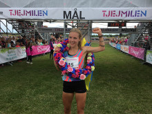 Sara Holmgren vann Tjejmilen 2017