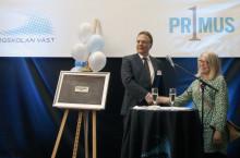 Drönare och 3D printad penna i blickfånget vid invigning av Primus