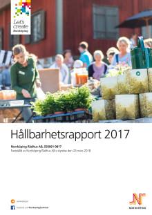 Nu släpps Norrköpings kommuns första hållbarhetsrapport