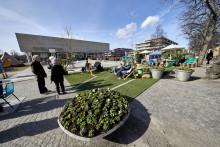 Earth Week fortsätter – idag öppnar Växjös Pop up Park