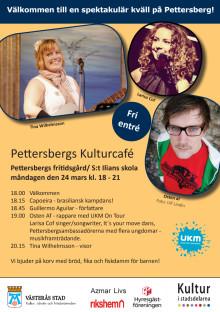 Affisch - Pettersbergs kulturcafé