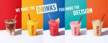 Costa Introduces the UK to its Huge Range of Summer Drinks