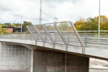 Nytt Elskyddstak för järnvägsbroar