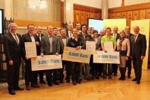 Bürgerenergiepreis Oberfranken 2016 verliehen