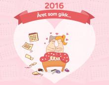 Så frekke var nordmennene i 2016