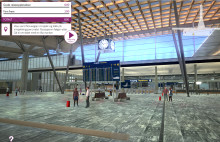 Using video game technology in employee training at Oslo Airport