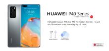 Introduktionserbjudande för Huawei P40-serien i Sverige