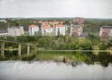Ny sjö i Huddinge centrum