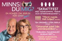 """Succékomedin """"Minns du mig?"""" åker på Sverige-turné våren 2018"""