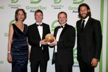 David Mayer de Rothschild und Heike Schiffler prämierten Sieger der GreenTec Awards