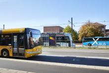 Midttrafik medtager færre passagerer fra onsdag morgen