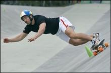 VM i slalomskateboard till Båstad