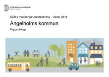 Rapportbilaga - Medborgarundersökning Ängelholm 2016