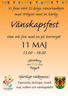 I år är det 25 år sedan Wolgast och Sölvesborgs kommuner tecknade vänortsavtal första gången