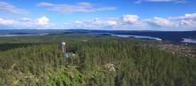 Nysatsning på utsiktstornet i Siljansnäs – Leksands Sparbank investerar 400 000 kr
