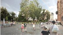 Ombyggnationen av Bantorget i Lund startar