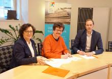 Norrköpings kommun och IP-Only undertecknade idag avtal för fiber