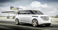 Volkswagen siktar mot framtiden – helt nya elbilskonceptet BUDD-e presenteras