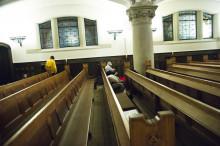 S:t Johannes kyrka i Malmö öppet hela vintern dygnet runt