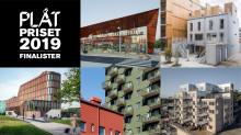 Fem svenska metallfasader - här är finalisterna i PLÅTPRISET 2019