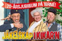 """Sverigeturné för Vallarnas jubileumsföreställning """"Jäkelskap i Kikar'n"""" och 20-årsfirande runtom i hela landet!"""