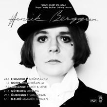 Henrik Berggren släpper soloalbum och turnerar