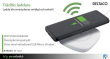 Ladda din smartphone helt trådlöst!