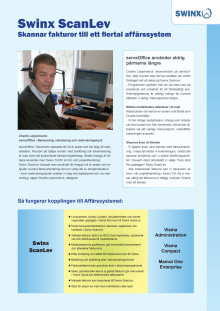 Bemanningsföretaget serveOffice kör Swinx för tidrapportering, projekt och fakturahantering!