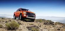 Nya Ford Ranger skapar historia som den första och hittills enda pickupen som får 5 stjärnor i Euro NCAP:s krocktest