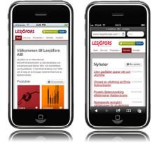 Mobil webbplats ger bättre service och tillgänglighet