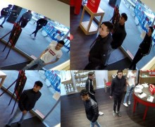 CCTV images released in Andover phone robbery investigation