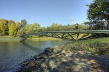 Nu tas första spadtaget för den nya bron på Djurgården