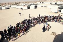 Sveriges största rörelsefest för barn – stödjer barn på flykt