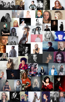 På årsdagen av #metoo-låten:  56 artister påminner om #metoo genom ny musikvideo