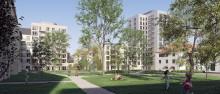 AB Kristianstadsbyggen bygger 300 lägenheter och stadsdelspark mitt i Kristianstad