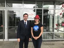 Takeda Betriebsstätte Oranienburg: Bundestagsabgeordnete Anke Domscheit-Berg zu Gast bei Takeda