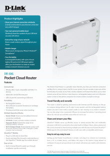 Produktblad DIR-506L