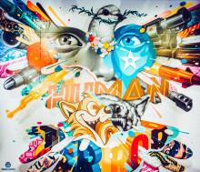 Konstnären Tristan Eaton dubbelaktuell i Stockholm