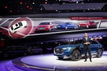 Audi viser drivlinjekompetencer fra ultra til e-tron på IAA