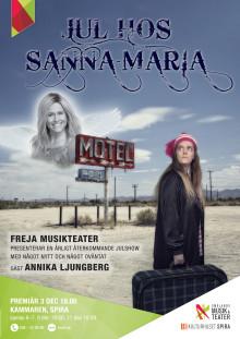 Affisch Freja: Jul hos Sanna-Maria