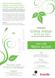 Gröna Möten - inbjudan