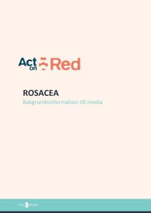 Bakgrund rosacea