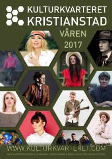 Kulturkvarteret Kristianstad programbok våren 2017