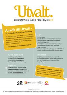 400 bidrag anmälda till Utvalt i Skåne 2015!