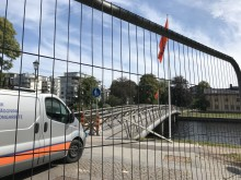 Nu byts Gamletullsbron ut