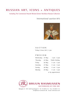 Russian Art & Antiques Auction 9 June 2017