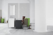 Swoon Single - smart lösning för små toaletter.