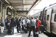 Enklare att byta tåg i Skåne