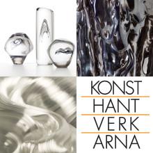 Danskt glas på Konsthantverkarna 15 mars - 2 april 2014