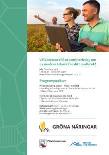 Inbjudan till Gröna Näringar